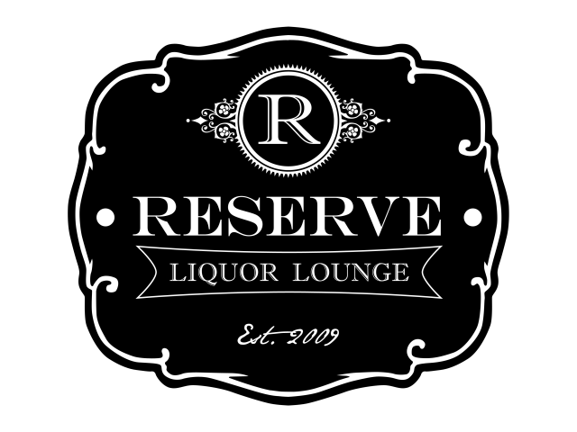 new logo reserve FA LIQUOR LOUNGE